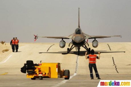 Persiapan Latihan Gabungan Militer Blue Flag F 16