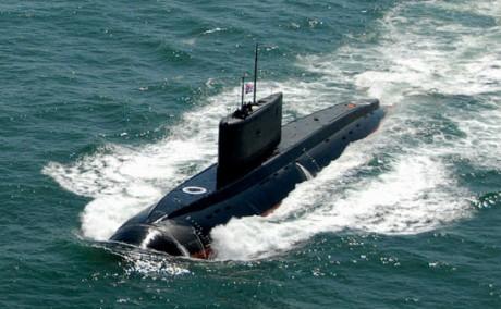 Kapal Selam Kelas Kilo Rusia