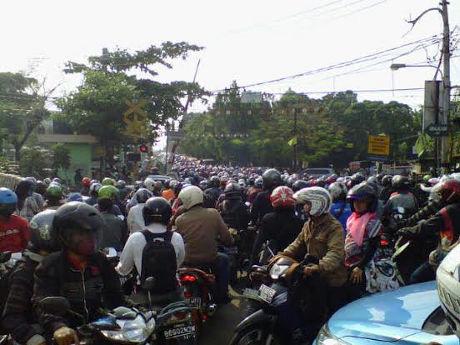 Lokasi Lalin Tragedi Bintaro II