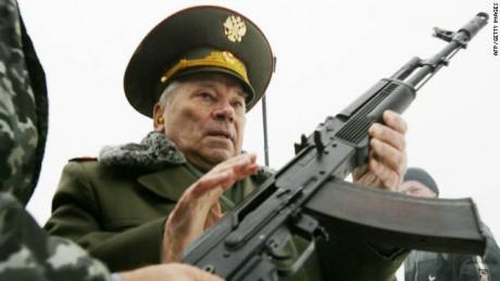 Mikhail Kalashnikov Meninggal Dunia