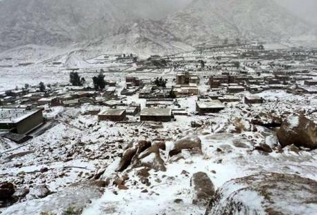 Salju di Timur Tengah