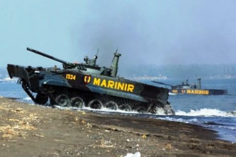 Tank BMP-3F TNI AL