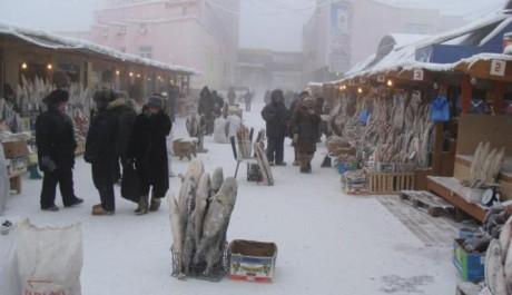 Kota paling dingin di Dunia
