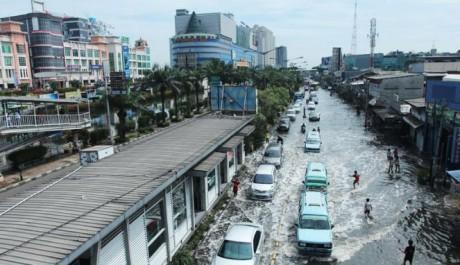 Titik Genangan di Jakarta