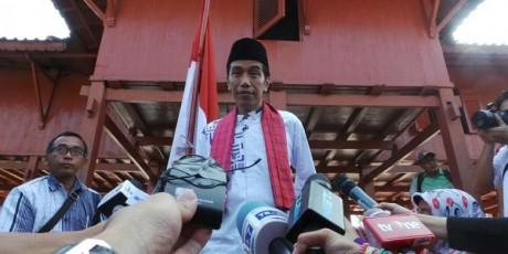 Jokowi - Deklarasi Capres di Rumah si Pitung
