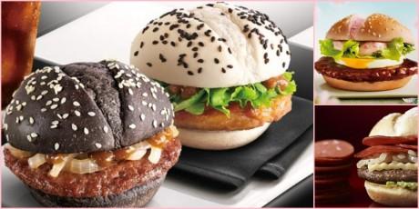 Desain Burger Unik