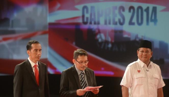 Debat Capres Prabowo Vs Jokowi 15 Juni 2014