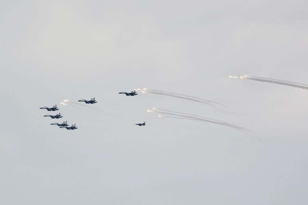 Formasi Perang Latgab 2014 1