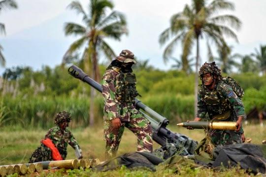 Formasi Perang Latgab 2014 13