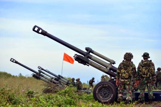Formasi Perang Latgab 2014 14