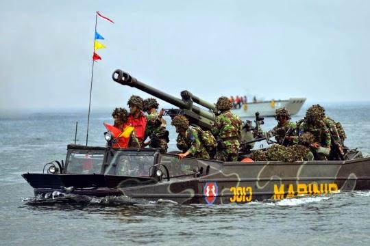 Formasi Perang Latgab 2014 3