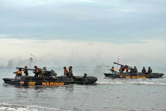 Formasi Perang Latgab 2014 4