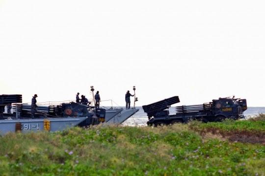 Formasi Perang Latgab 2014 6