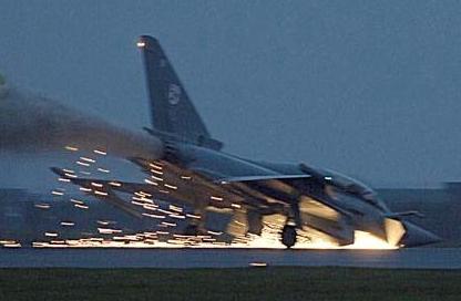 Jet Tempur Eurofighter Typhoon Jatuh di Spanyol 4