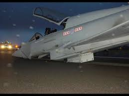 Jet Tempur Eurofighter Typhoon Jatuh di Spanyol 6