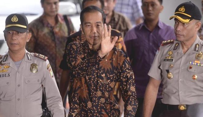 Joko Widodo di KPK Saat Ditanya Kasus Korupsi Bus TransJakarta