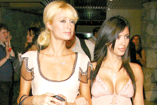Paris Hilton & Kim Kardashian