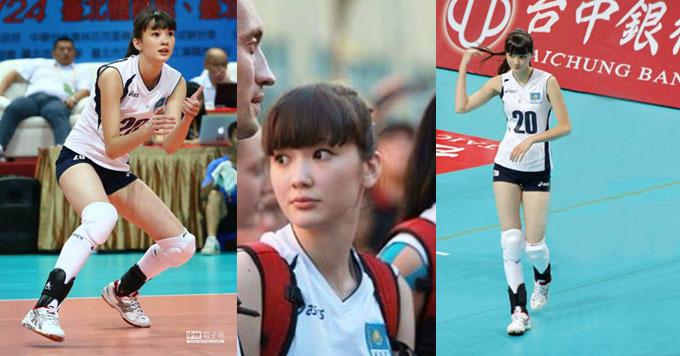 Atlet Voli Cantik Sabina Altynbekova 6