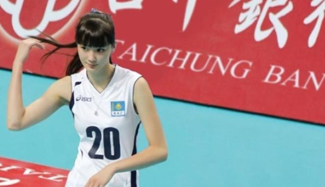 Atlet Voli Cantik Sabina Altynbekova