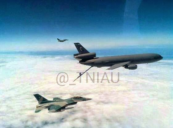 F-16 C D 52ID TNI AU Air Refueling