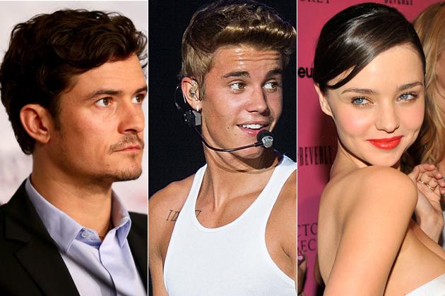 Justin Bieber dipukul Orlando Bloom karena Miranda Kerr
