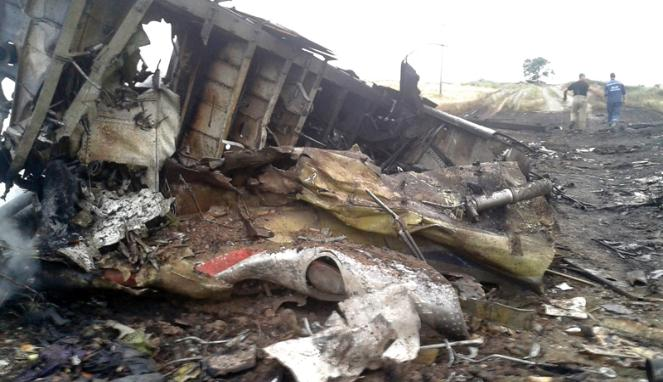 MH17 di Tembak Rudal - Kecelakaan Pesawat Malaysia Airlines di Ukraina
