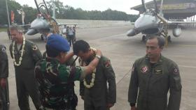 Pesawat F-16 CD-52ID TNI AU Tiba Di Tanah Air 2