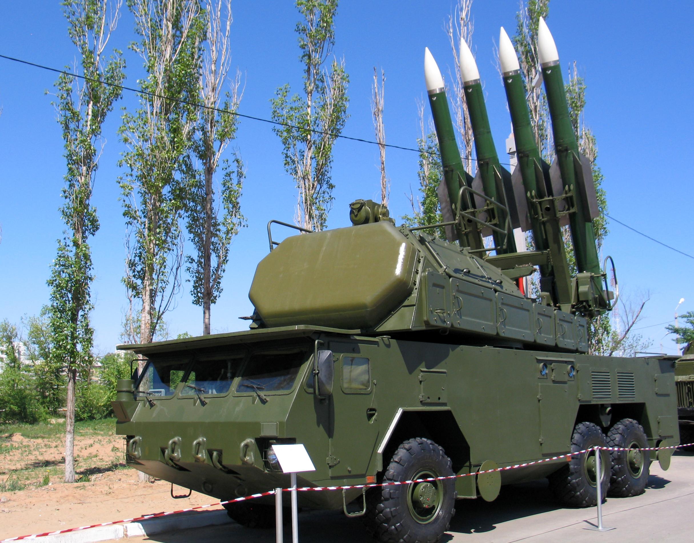 Rudal BUK 9K37 Rusia SA-11 Gadfly 1