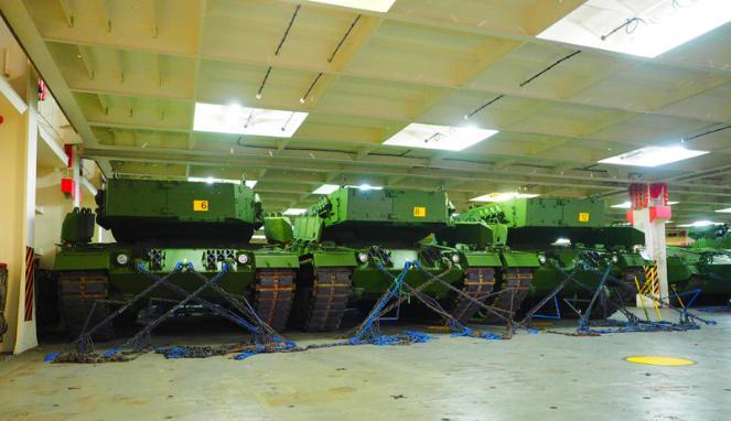 Kedatangan Tank Leopard & Marder 2