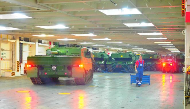 Kedatangan Tank Leopard & Marder 3