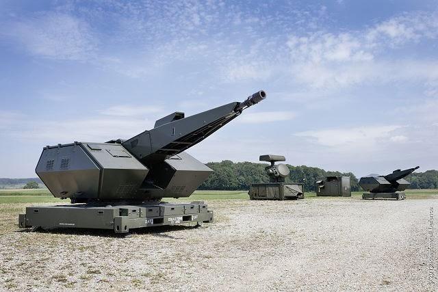 Oerlikon Skyshield TNI AU 1