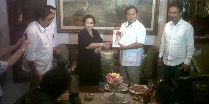Rachmawati Soekarnoputri dan Prabowo Subianto