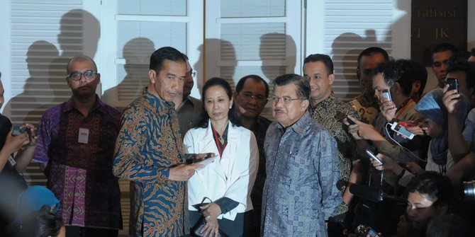 Janji Palsu Jokowi - Saat Umumkan Struktur Kabinet - Merdeka.com