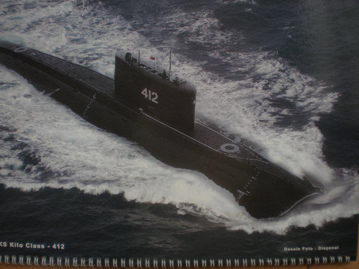 Kapal Selam Kilo 636 Class Indonesia