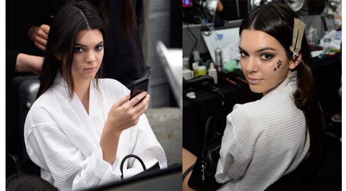 Kendall Jenner Tanpa Bra 1