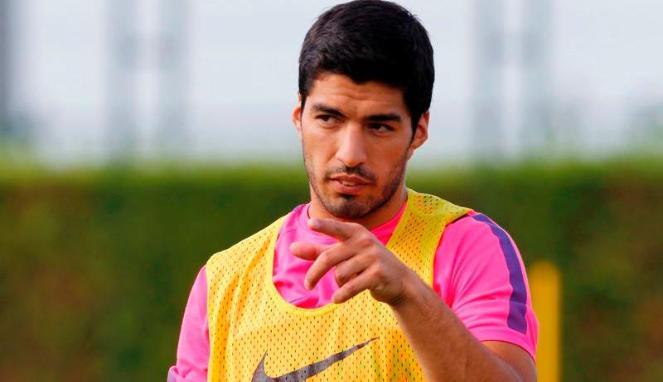 Luis Suarez - Reuters