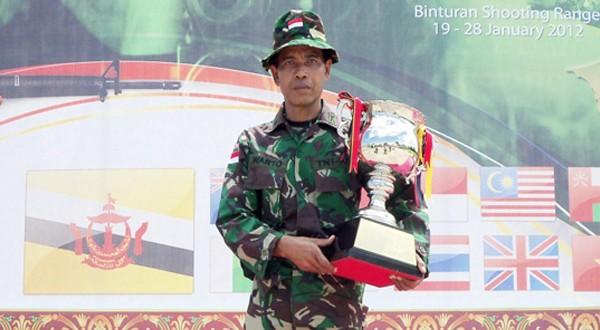 Mayior Inf Warto, Perwira dengan Segudang Prestasi