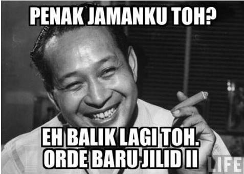 Meme Lucu SBY Protes RUU Pilkada 6