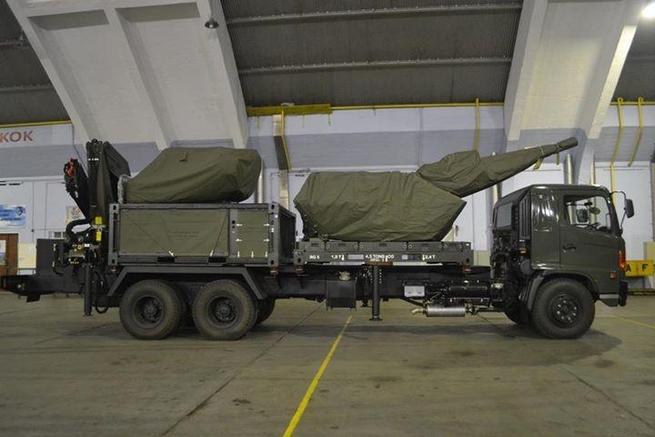 Oerlikon Skyshield TNI AU Mobile 1