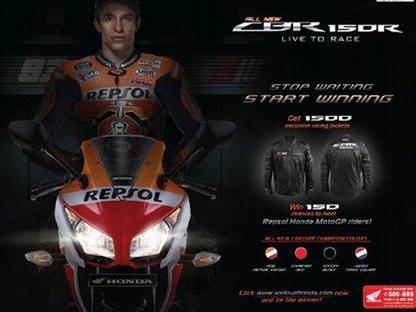 Pesan Honda CBR150R