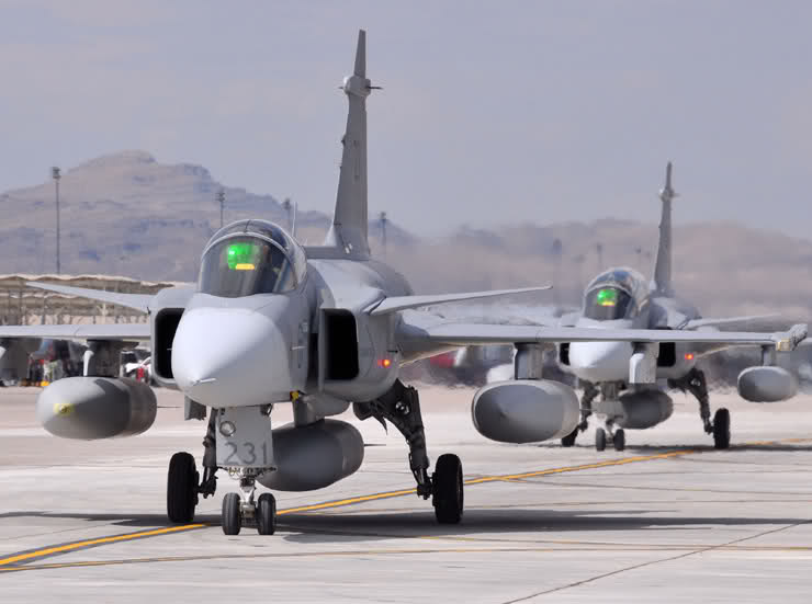 SAAB Tawarkan ToT JAS-39 C-D Gripen untuk Indonesia