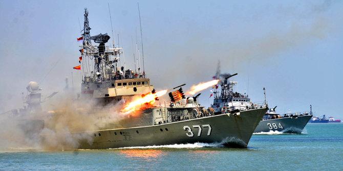 Armada AL Sergap kapal Asing