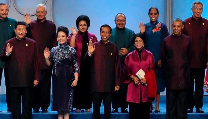 Foto Populer di APEC 2014