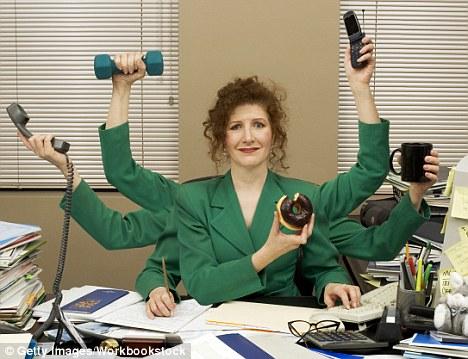 Bekerja Secara Multitasking Tidak Efektif - DailyMailCoUk