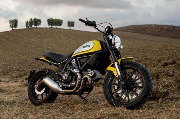 Ducati Scrambler - Motor Tercantik 2014