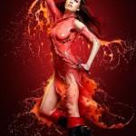 Elektra - Kostum Seksi Superhero 7