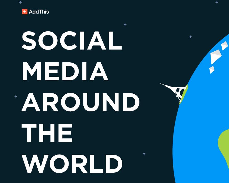 Infografik Sosial Media di Dunia
