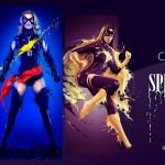Kostum Seksi Superhero Untuk Kalender 2015