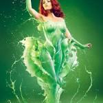 Poison Ivy - Kostum Seksi Superhero 6