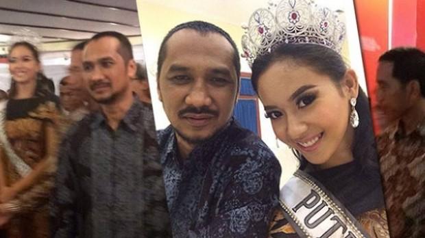 Abraham Samad dan Putri Indonesia